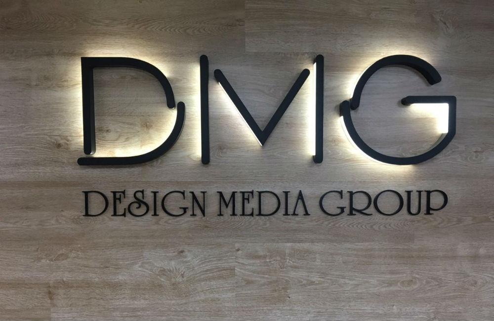 Световой логотип DMG