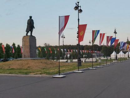 Флаги на фестивале