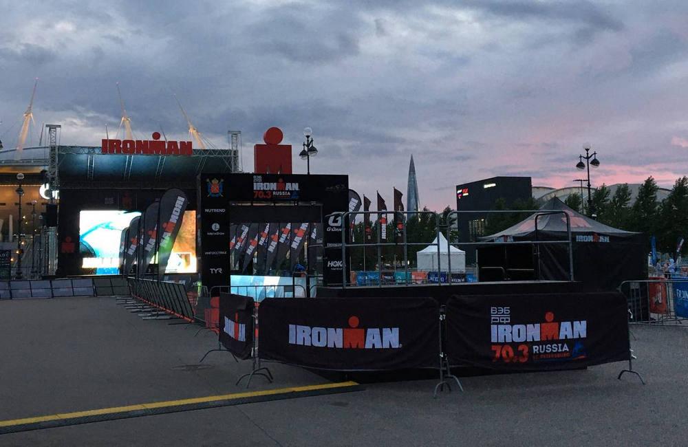 Сцена на фестивале АйронМэн, фото